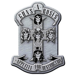 Guns N' Roses Pin Badge: Appetite
