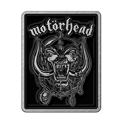Motorhead Pin Badge: Logo & War Pig