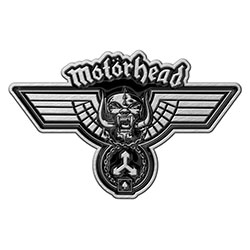 Motorhead Pin Badge: Hammered