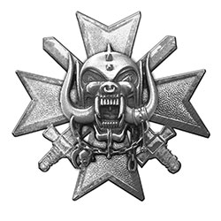 Motorhead Pin Badge: Bad Magic