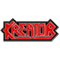 Kreator Pin Badge: Logo (Retail Pack)