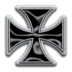 Generic Pin Badge: Iron Cross (Retail Pack)