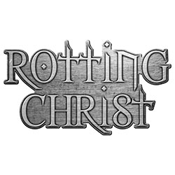 Rotting Christ Pin Badge: Logo (Retail Pack)