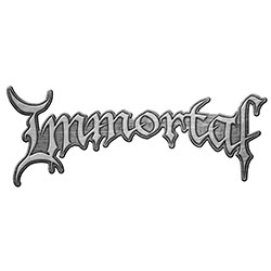 Immortal Pin Badge: Logo (Retail Pack)