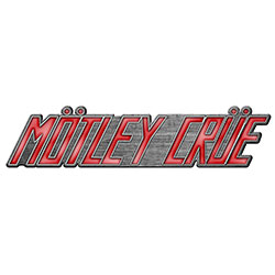 Motley Crue Pin Badge: Logo (Retail Pack)