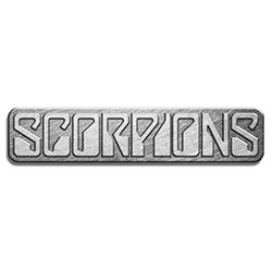 Scorpions Pin Badge: Logo (Retail Pack)