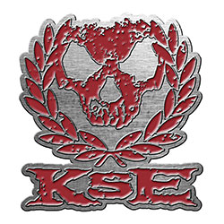 Killswitch Engage Pin Badge: Skull Wreath (Retail Pack)