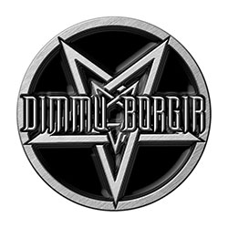 Dimmu Borgir Pin Badge: Pentagram (Retail Pack)