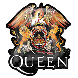 Queen Pin Badge: Crest (Retail Pack)
