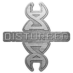Disturbed Pin Badge: Reddna (Retail Pack)