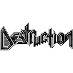 Destruction Pin Badge: Logo