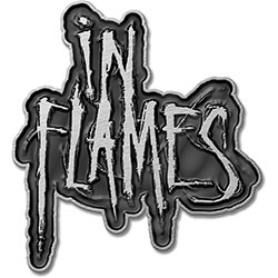 In Flames Pin Badge: Logo