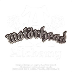 Motorhead Pin Badge: Logo