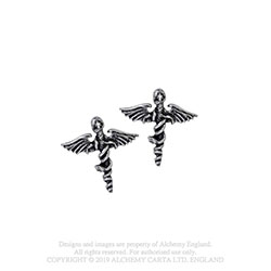 Motley Crue Stud Earrings: Swords
