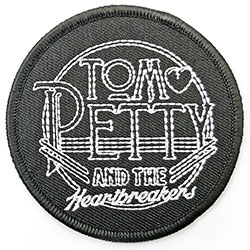 Tom Petty & The Heartbreakers Standard Patch: Circle Logo (Patch)