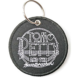 Tom Petty & The Heartbreakers Standard Keychain: Circle Logo (Patch)