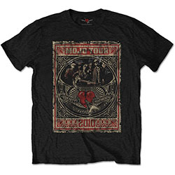 Tom Petty & The Heartbreakers Unisex Tee: Mojo Tour (Soft Hand Inks)