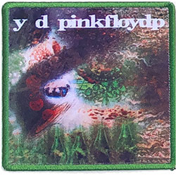Pink Floyd Standard Patch: A Saucerful Of Secrets (Album Cover)