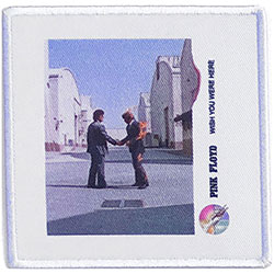Pink Floyd Standard Patch: Wish You Were Here Vinyl (Album Cover)
