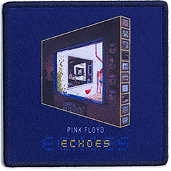 Pink Floyd Standard Patch: Echoes: The Best Of… (Album Cover)