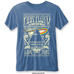 Pink Floyd Men's Fashion Tee: Carnegie Hall (Burn Out)