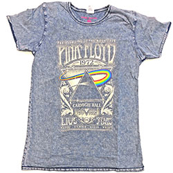 Pink Floyd Unisex Tee: Carnegie Hall (Burn Out)