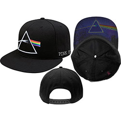 Pink Floyd Men's Baseball Cap: Dark Side of the Moon (Snap Back)