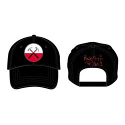 Pink Floyd Men's Baseball Cap: The Wall Hammers Logo