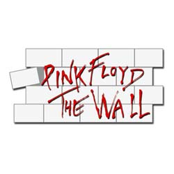 Pink Floyd Pin Badge: The Wall Logo