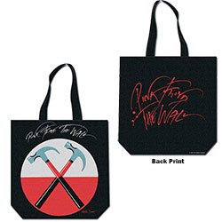 Pink Floyd Cotton Tote Bag: Hammers (with zip top)