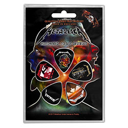 Metallica Plectrum Pack: Hardwired to self-destruct