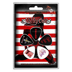 Motley Crue Plectrum Pack: Red, White & Crue (Retail Pack)