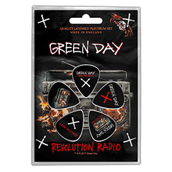 Green Day Plectrum Pack: Revolution Radio