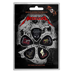 Metallica Plectrum Pack: Guitars