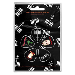 Marilyn Manson Plectrum Pack: MM (Retail Pack)