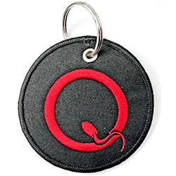 Queens Of The Stone Age Keychain: Q Logo (Double Sided Patch)