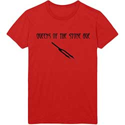Queens Of The Stone Age Unisex Tee: Deaf Songs