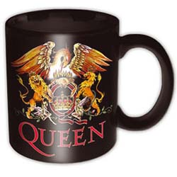 Queen Boxed Standard Mug: Classic Crest