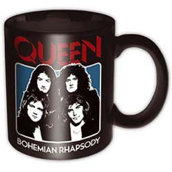 Queen Boxed Standard Mug: Bo Rhap Black