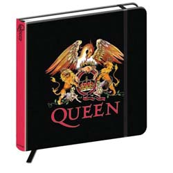 Queen Notebook: Crest (Hard Back)