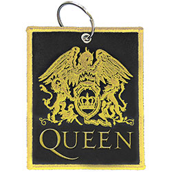 Queen Keychain: Classic Crest (Double Sided Patch)