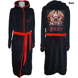Queen Unisex Bathrobe: Classic Crest