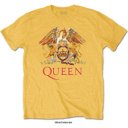 Queen Men's Tee: Classic Crest