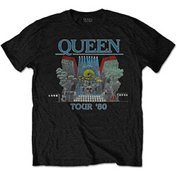 Queen Men's Tee: Tour '80