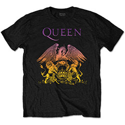 Queen Men's Tee: Gradient Crest