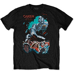 Queen Unisex Tee: News Of The World Vintage