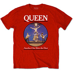 Queen Unisex Tee: Another One Bites The Dust