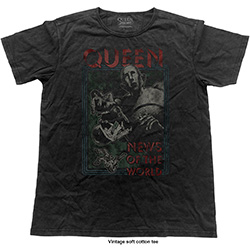 Queen Men's Fashion Tee: NOTW Vintage (Vintage Finish)