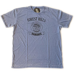 Ramones Men's Fashion Tee: Forest Hills Vintage (Burn Out)