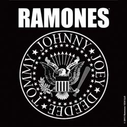 Ramones Single Cork Coaster: Presidential Seal